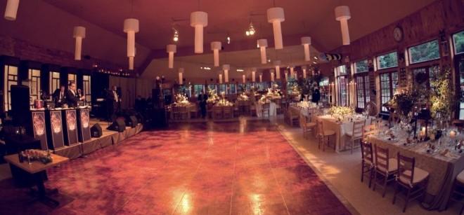 Dance Floor Summer Camp Weddings in the Poconos Philadelphia Weddings