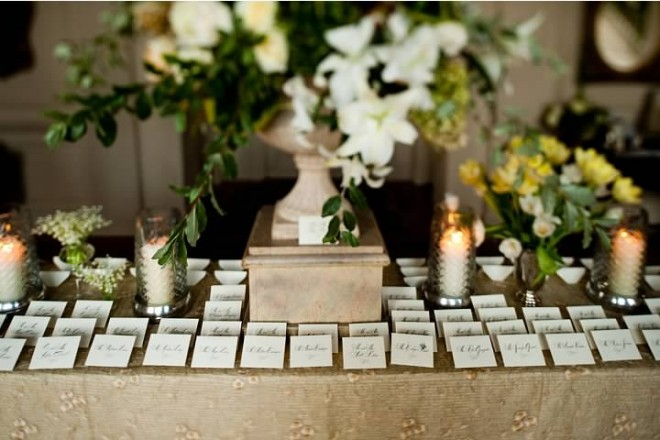 Elegant Place Card Table Designs Traditional Weddings Evantine Design
