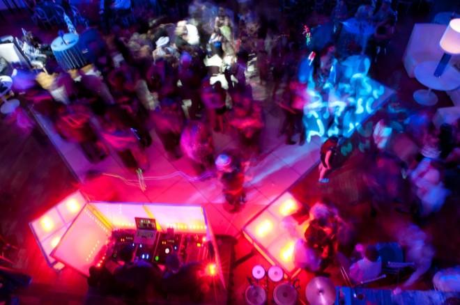 friends on the dance floor boys bar mitzvah parties