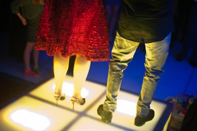 Mitzvah Parents Dancing Light Up Platforms Evantine Design