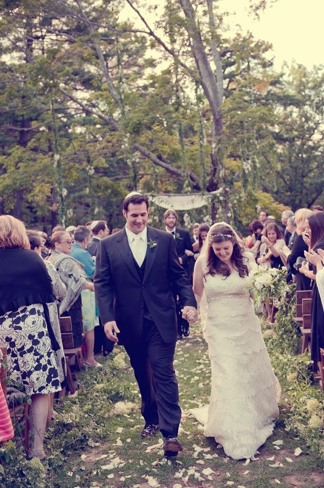 Recessional Camp Wedding Kissing Tree Evantine Love Shack-c