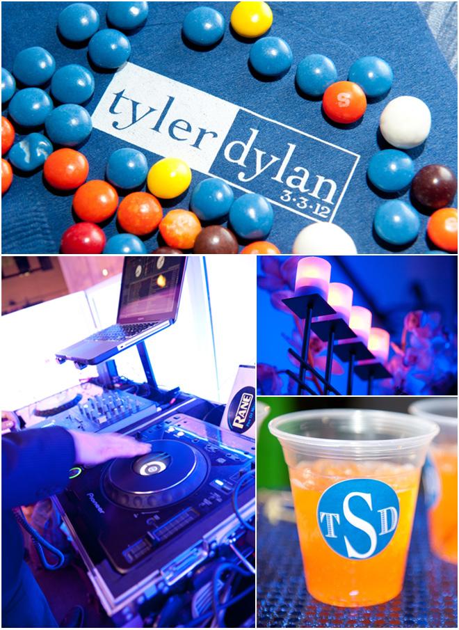 Royal Blue Bar Mitzvahs Evantine Design Philadelphia Party Planners