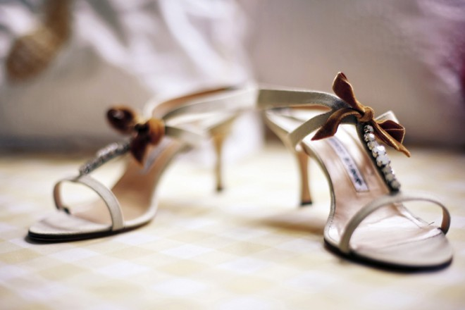Wedding Shoes Manolo Blahnik Sandals Evantine Design