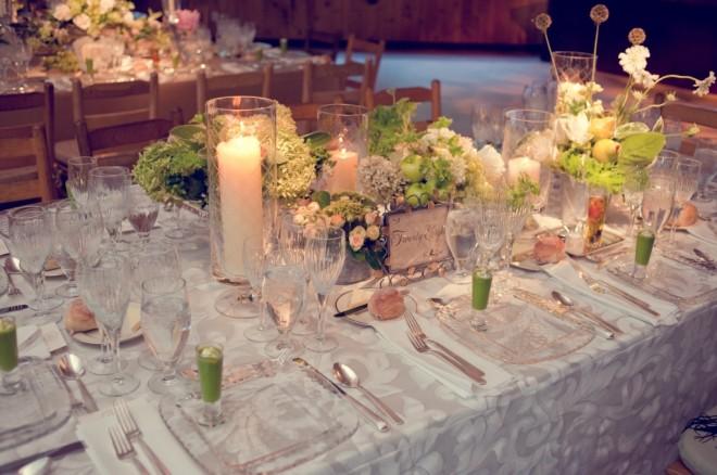 Wildflower Dinner Tables Camp Wedding Evantine Design Love Shack
