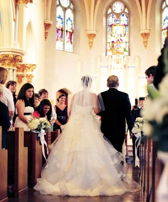 Brides processional catholic churches Philadelphia Weddings