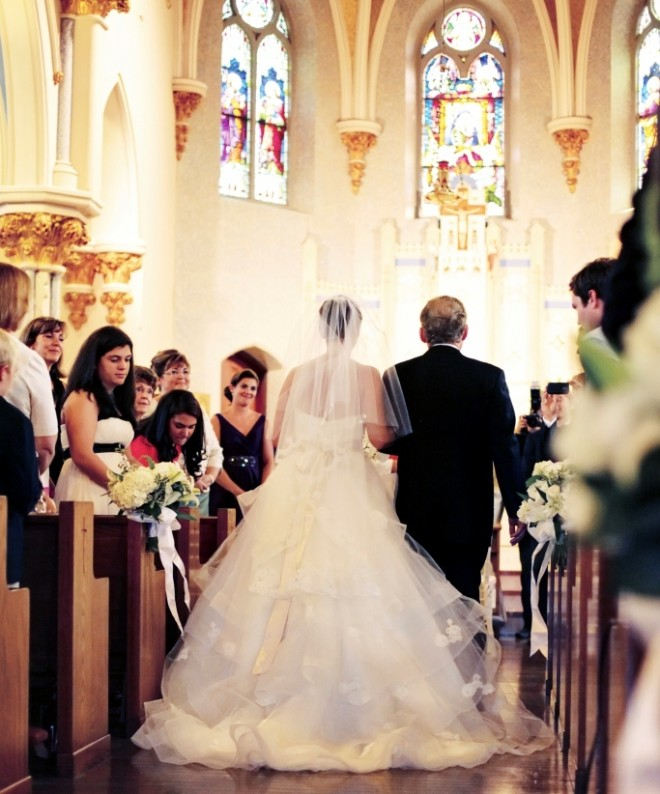 Brides processional catholic churches Philadelphia Weddings
