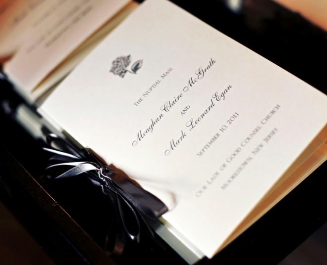 Ceremony Programs Traditional Weddings Evantine Design