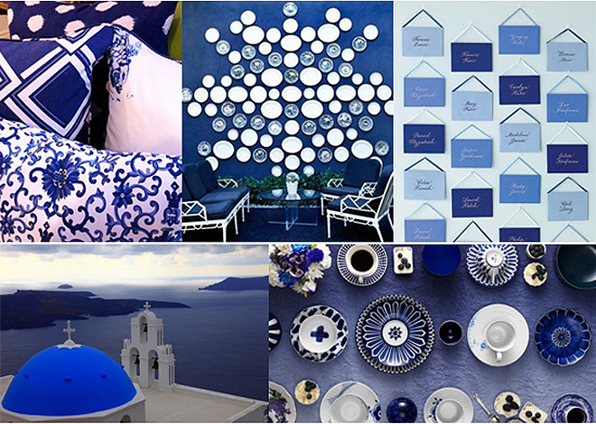 Cobalt Blue Party Accessories and Wedding Inspiration