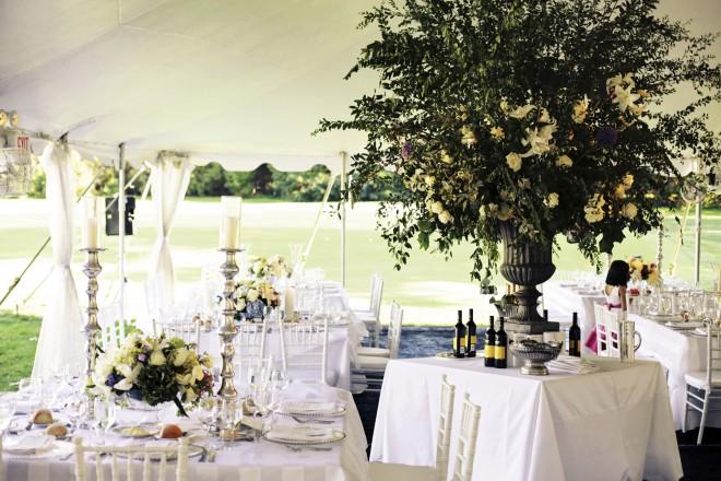 Pole Tents for Weddings Wine Stations White Wedding Evantine Design