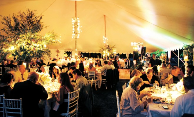 Tented Weddings Pole Tents EventQuip Evantine Design Philadelphia Weddings