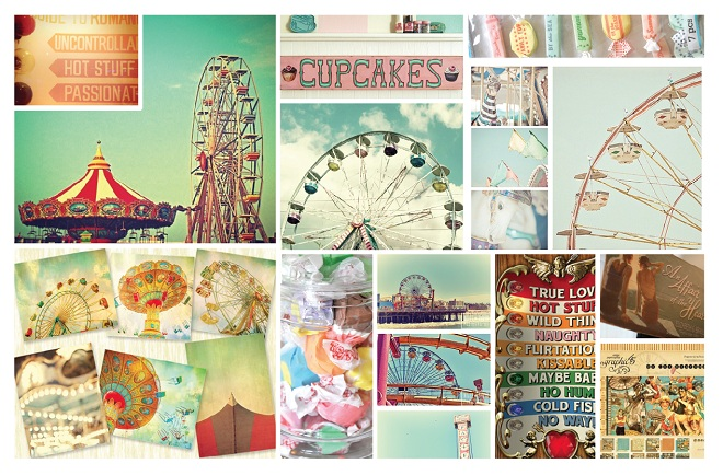 beach carousel jersey boardward party inspiration