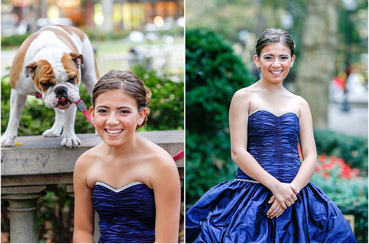 Bright Blue Gowns for Bat Mitzvah, Philadelphia Party Planners, Marie Labbancz