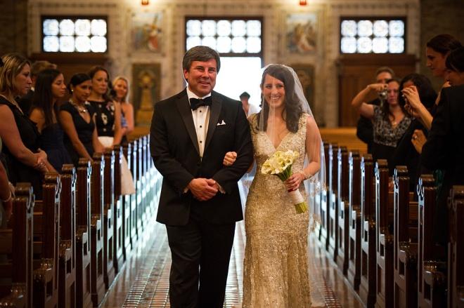 Bridal Entrance Philadelphia Church Weddings Cliff Mautner