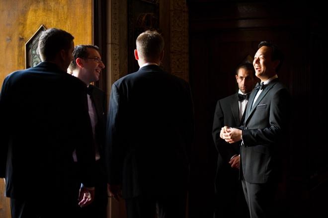 Groomsmen Philadelphia Church Weddings Cliff Mautner