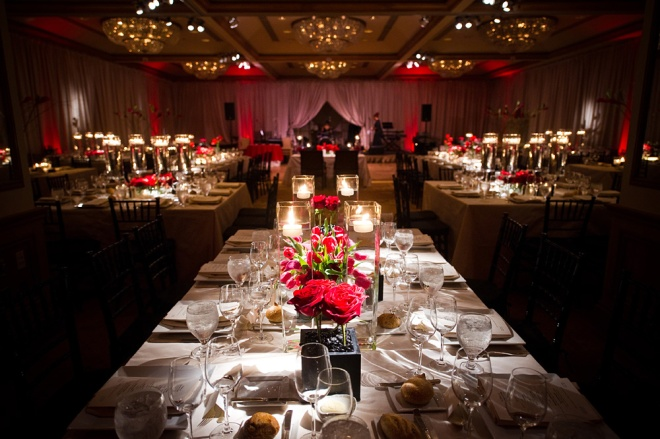 Modern Red Wedding Evantine Design Cliff Mautner