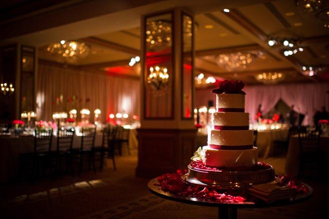 Red Wedding Rittenhouse Square Evantine Design Cliff Mautner
