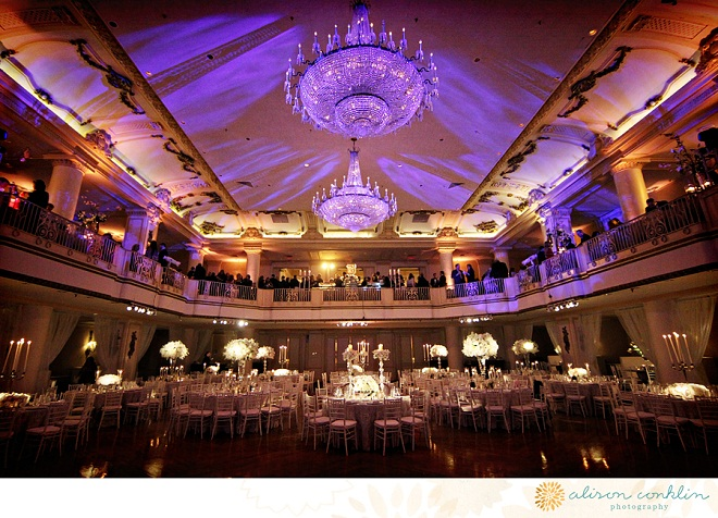 Ballroom Lighting Evantine Design Philadelphia Florists