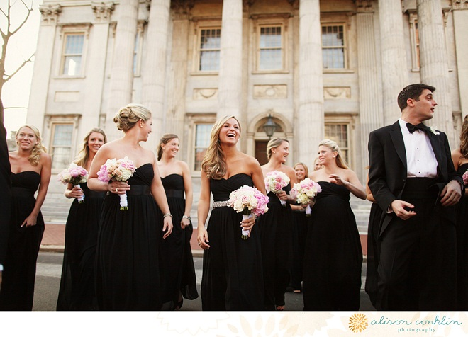 Bridal Party Philadelphia Weddings Alison Conklin