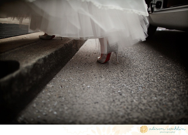 Bridal Shoes Church Weddings Philadelphia