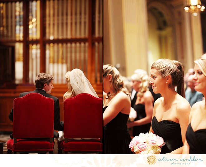 Bridesmaids Church Ceremony Philadelphia Weddings