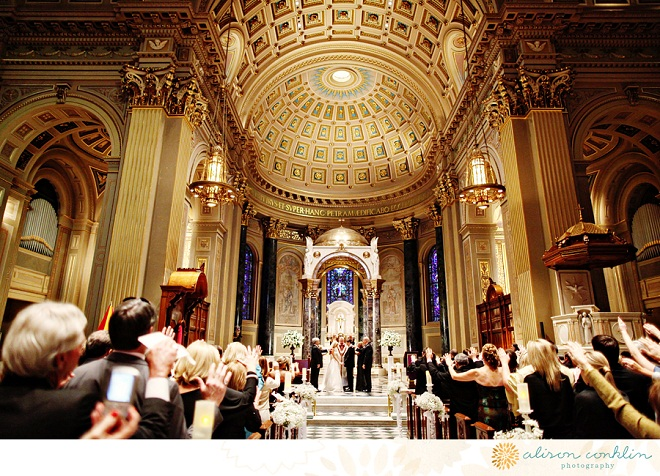 Catholic Weddings Philadelphia Alison Conklin