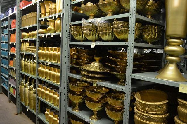 gold vases bronze vessels evantine design
