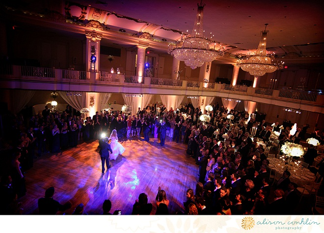 First Dance Lighting Effects Philadelphia Weddings