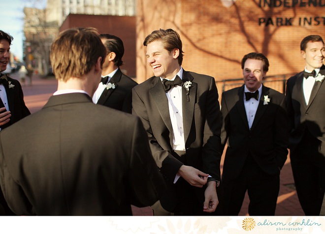 Groomsmen Alison Conklin Photography