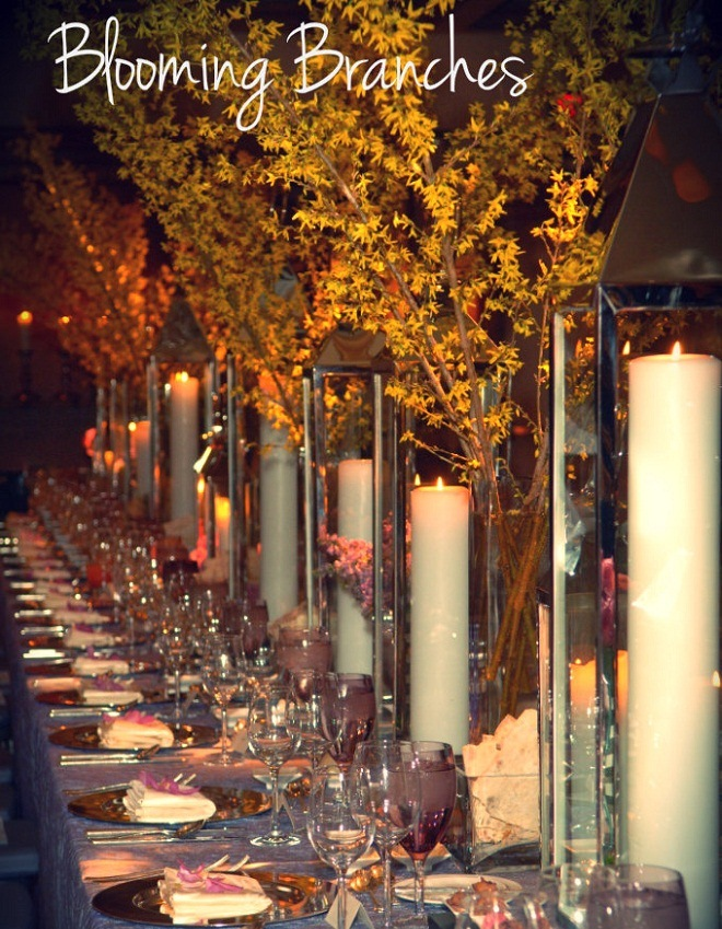 long feast table rittenhouse hotel forsythia evantine design