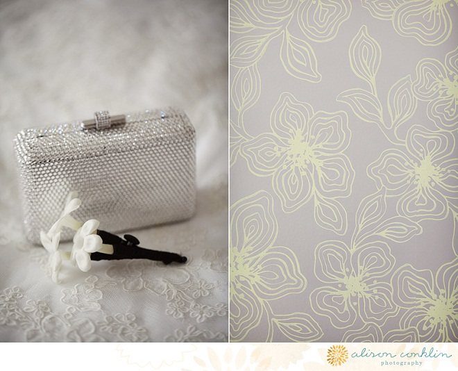 Sparkly Clutch Wedding Details