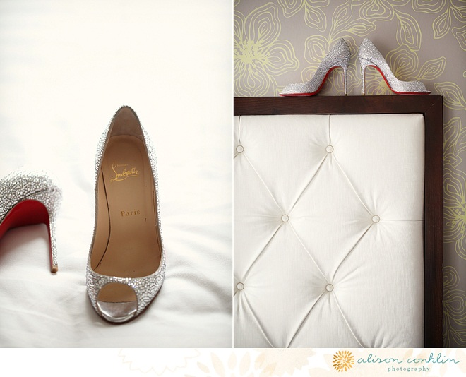 Wedding Shoes Sparkly Heels Christian Louboutin