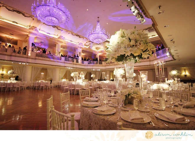 White Wedding Decor Evantine Design Bellevue Philadelphia