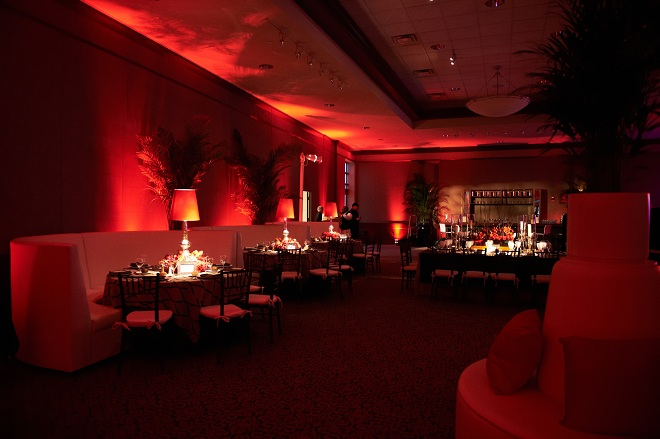 Adult Dinner Tables Red Themed Parties Steakhouse