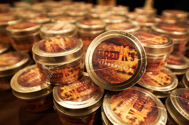 Bar Mitzvah Favors Steakhouse Theme Evantine Design-c