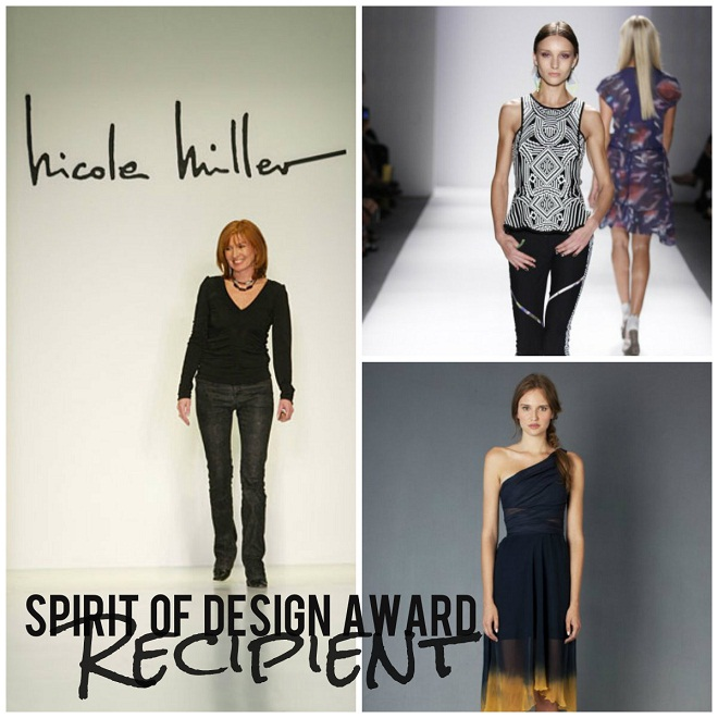 Nicole Miller Spirit of Design Award