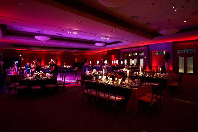 Red and Purple Lighting for Social Events Eventions Productions-c