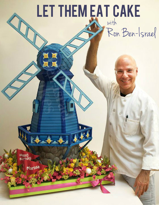 windmill cake by ron ben-israel evantine design