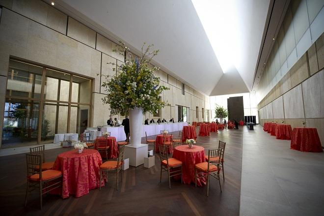 Large event spaces philadelphia evantine design