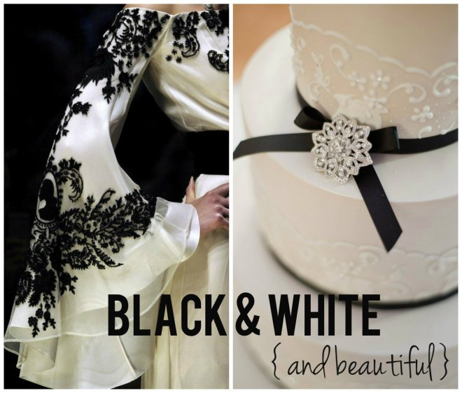black and white wedding inspiration evantine design 2