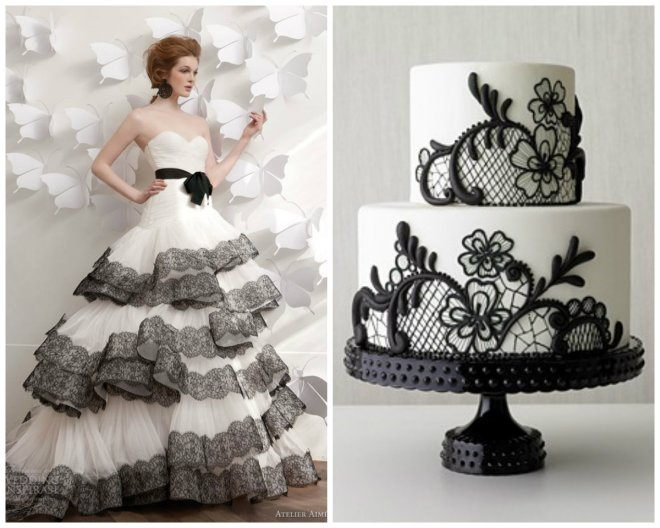 black and white wedding inspiration evantine design 3