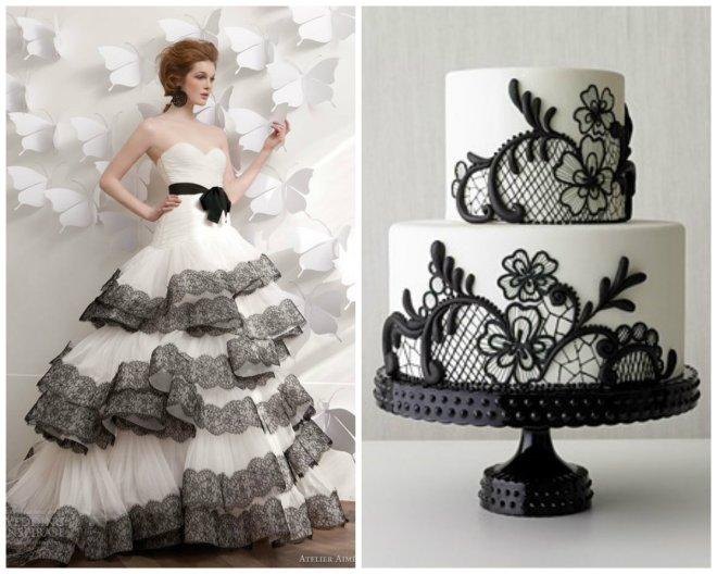 black and white wedding inspiration evantine design 3