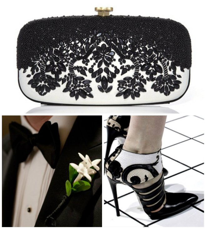 black and white wedding inspiration evantine design 4