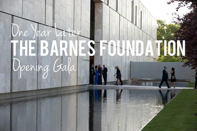 Opening Gala Barnes Foundation Philadelphia Event Designers Evantine
