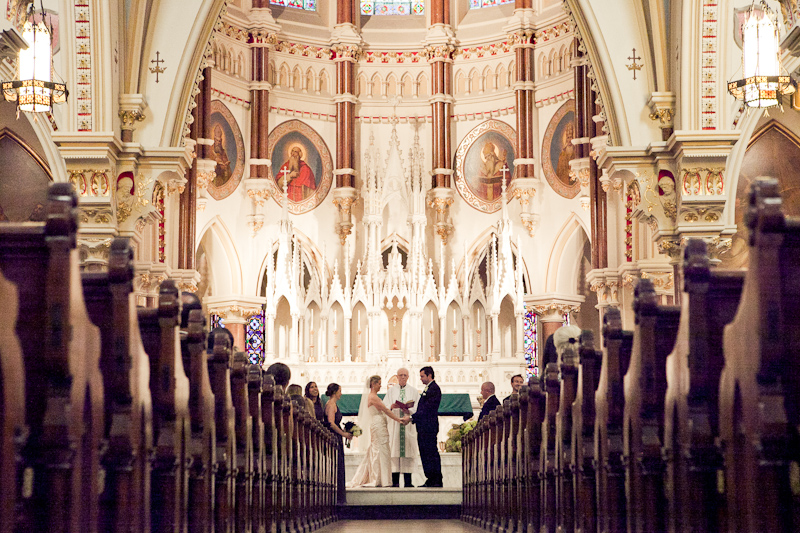 Catholic Church Weddings Chic wedding at the kimmel