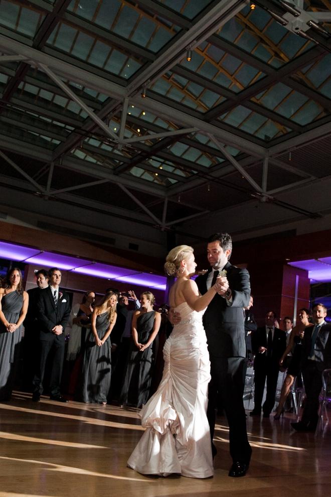 First Dance Hamilton Garden Kimmel Center Weddings