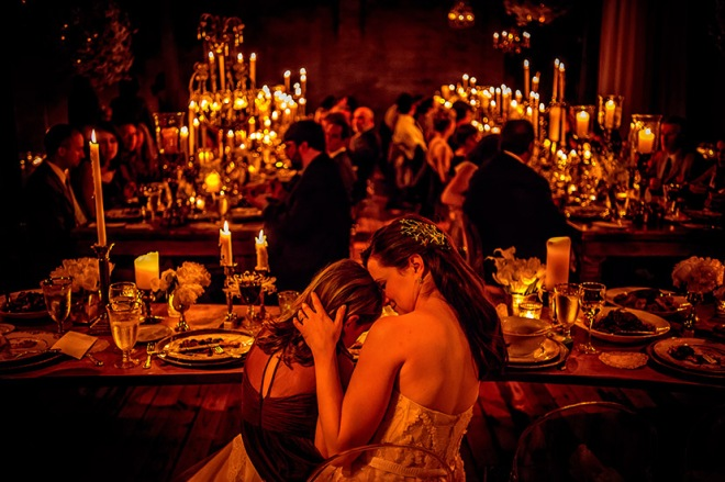 Weddings with candles weddings without flowers evantine design