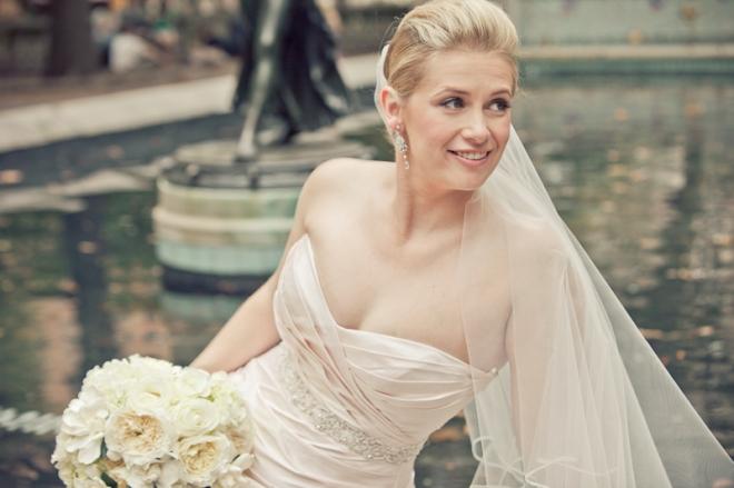 White Bridal Bouquets Evantine Design