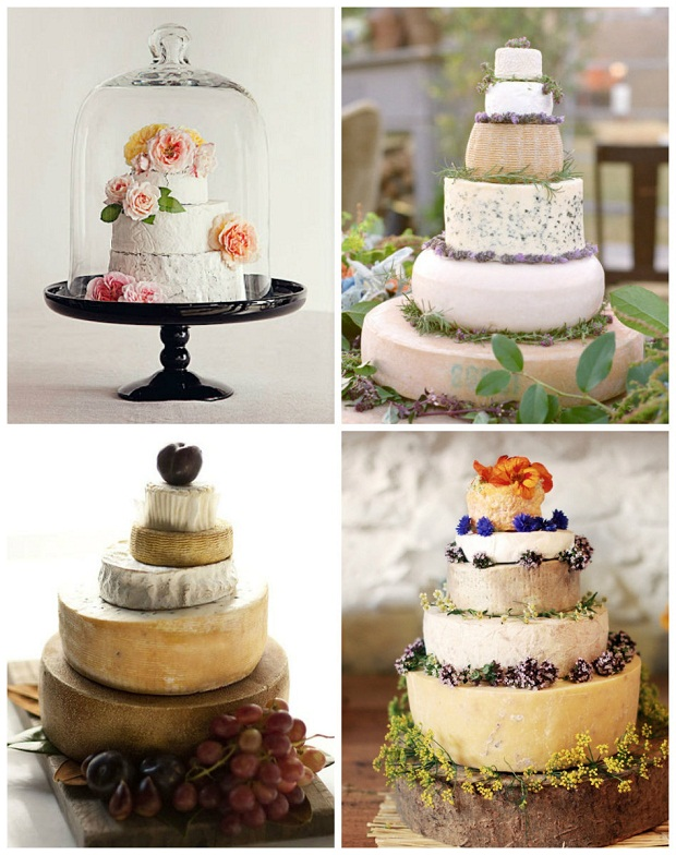 wedding cakes made with cheese wheels evantine design blog