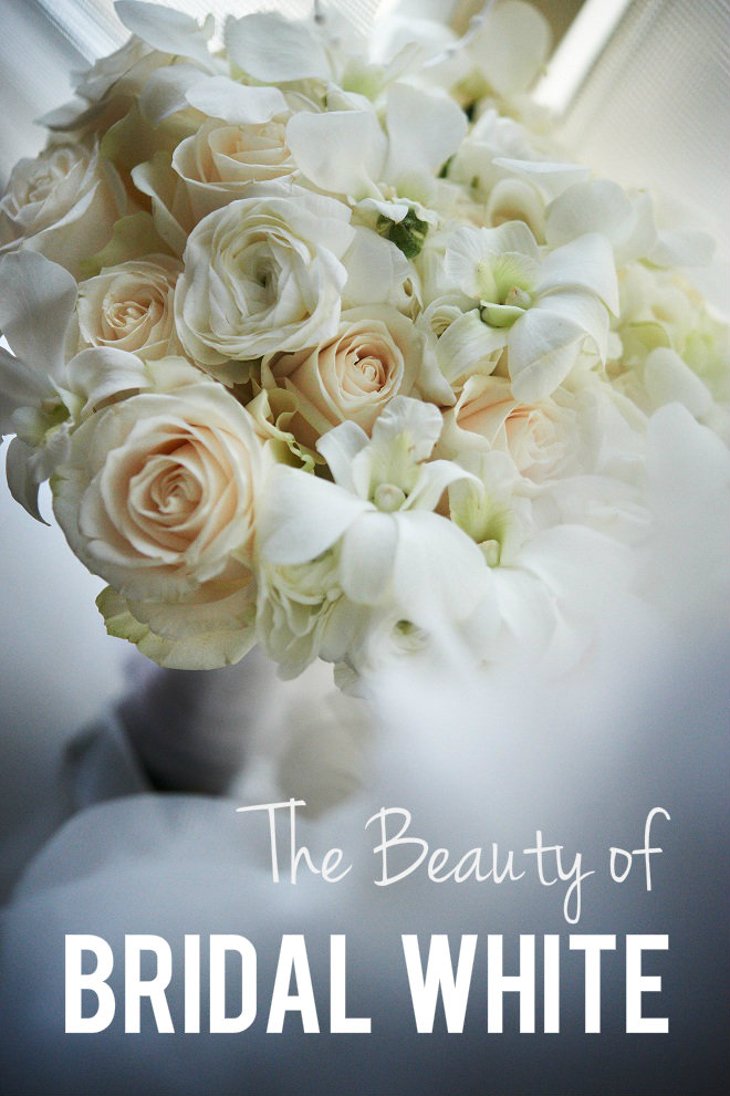 Evantine Design White Bridal Bouquets Philadelphia Florists