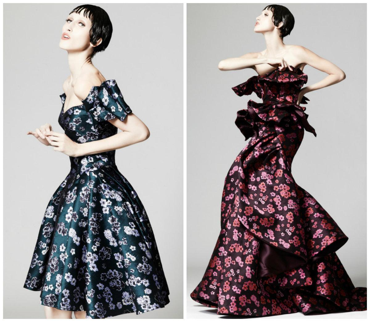 Floral Gowns Evantine Design Blog